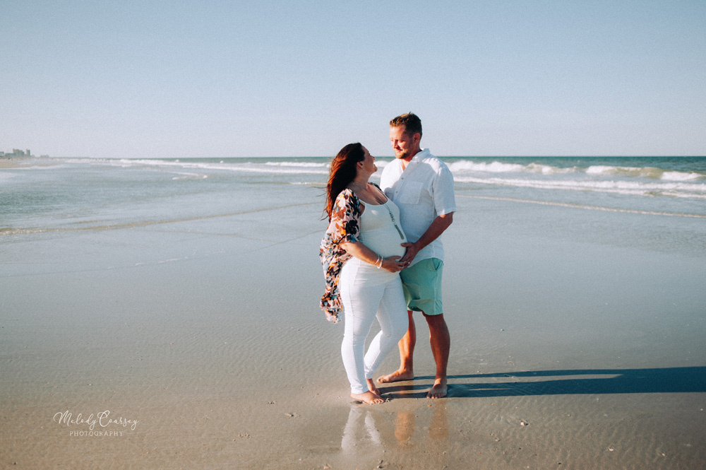 maternity portrait photographer jacksonville beach