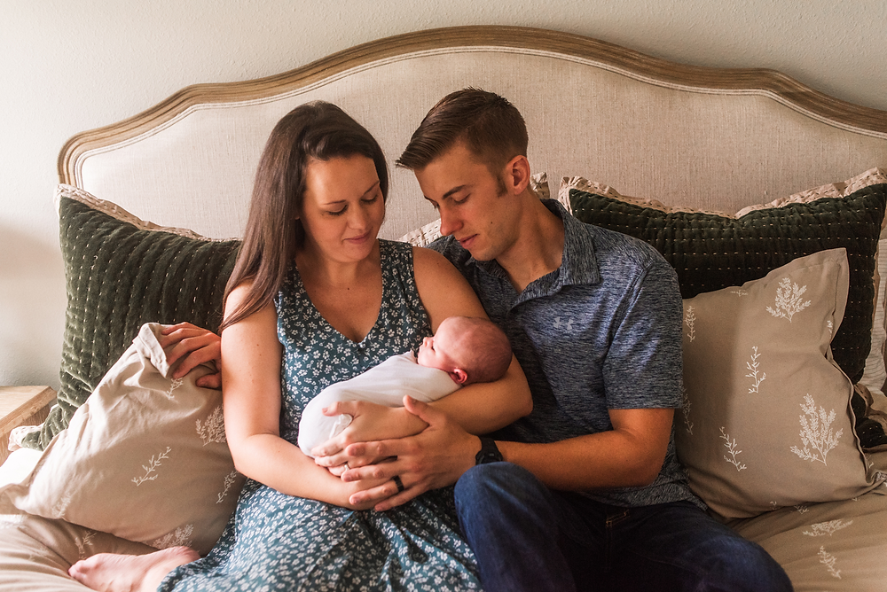 lifestyle newborn photography in jacksonville fl