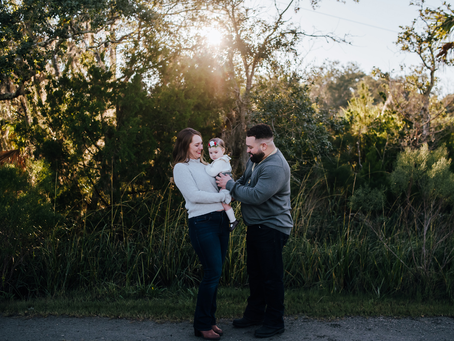 One Year Flies By | Jacksonville FL Family Photographer