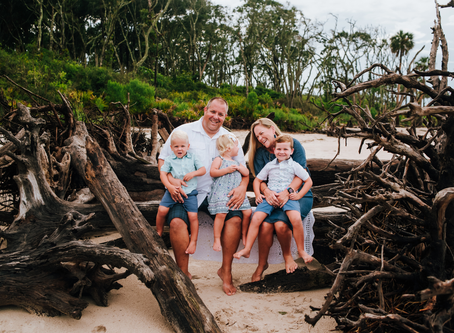 Beach Family Portraits | Jacksonville FL Family Photographer
