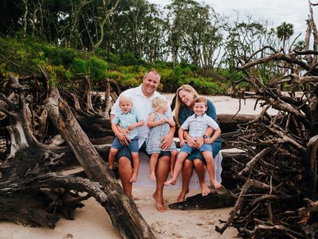 Beach Family Portraits | Jacksonville FL Family Photographer