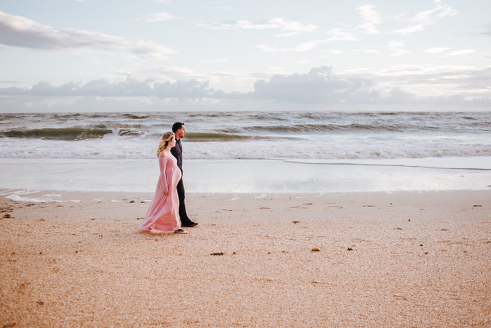 vilano beach fl maternity photos