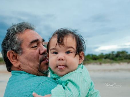 Beach Family Portraits | Jacksonville Family Photographer