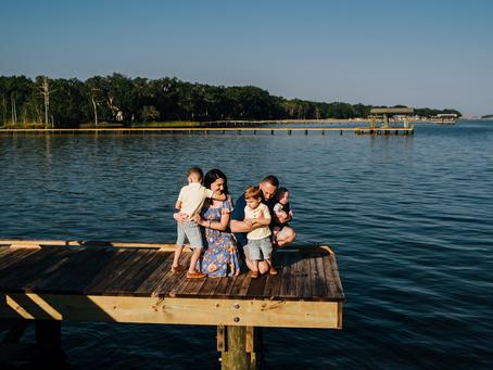 So Much Love | 3 Month Milestone Portraits | Jacksonville FL Family Photographer