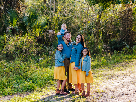 First Locations Don't Always Work Out | Jacksonville FL Family Photographer