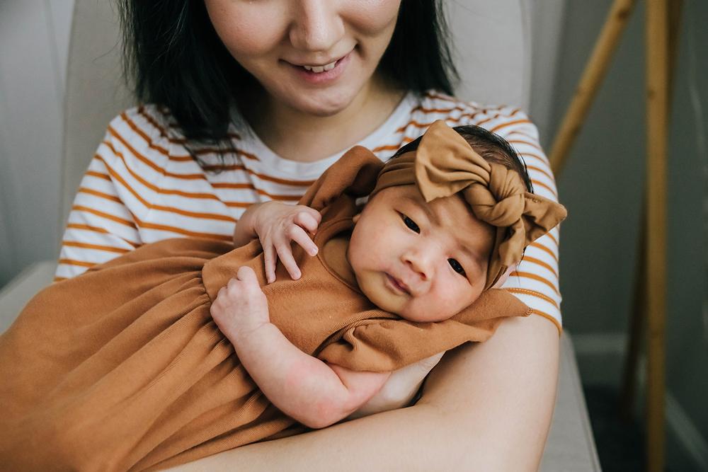 lifestyle newborn photographer in st augustine fl
