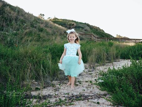 Beach Portrait Photographer | Watch Me Grow | 8 Month Milestone Portraits | Jacksonville Family Phot