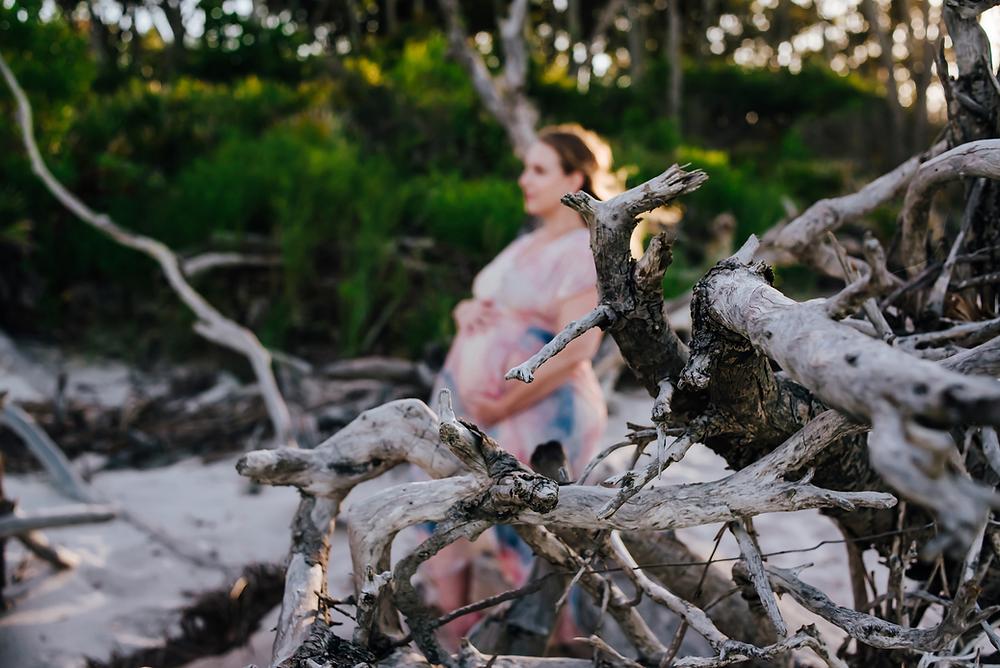 jacksonville fl beach maternity photoshoot