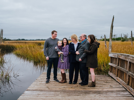 All of the Love | Extended Family Portraits | Jacksonville Beach FL Family Photography