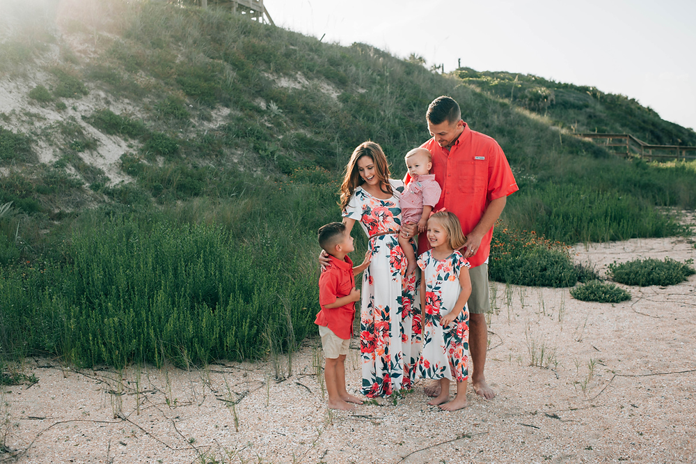 best st augustine family photography