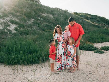 Beach Mini Event | Ponte Vedra Beach FL Family Photographer | Beach Family Portraits