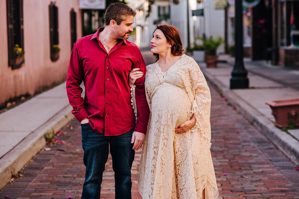 maternity portraits st augustine