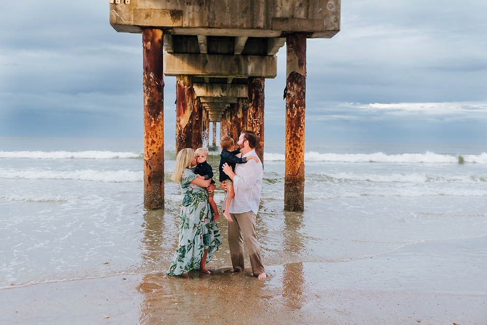 family photographers in st augustine beach fl