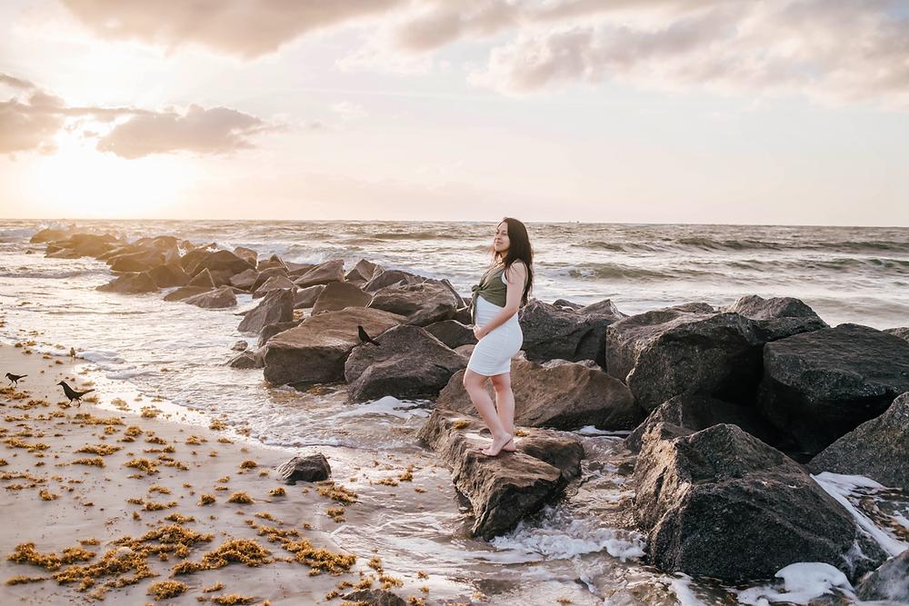 vilano beach fl maternity photographers