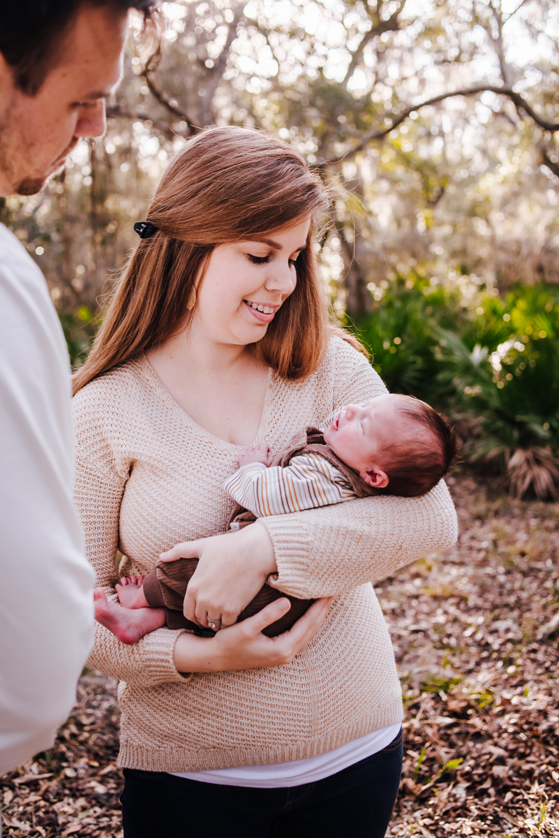 outdoor newborn photos in jacksonville fl