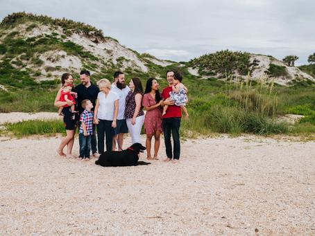 Beach Family Photography Ponte Vedra Beach FL