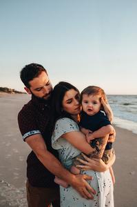 beach family photos jacksonville