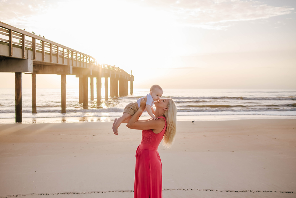 family photographers in st augustine beach
