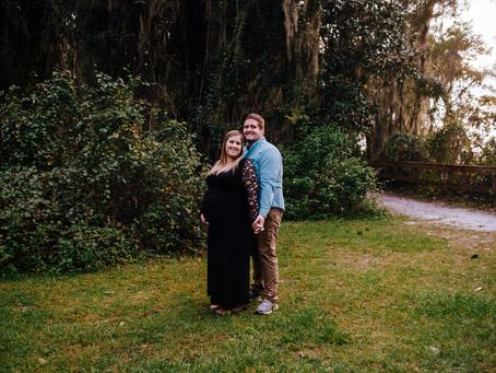 Park Maternity Photos | Jacksonville FL Maternity Photographer |