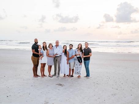 Family Photography St Augustine Beach, FL
