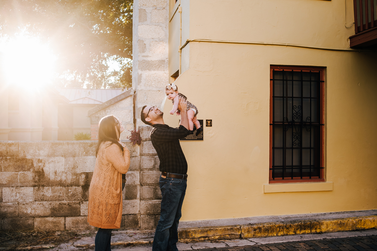 st augustine family photos