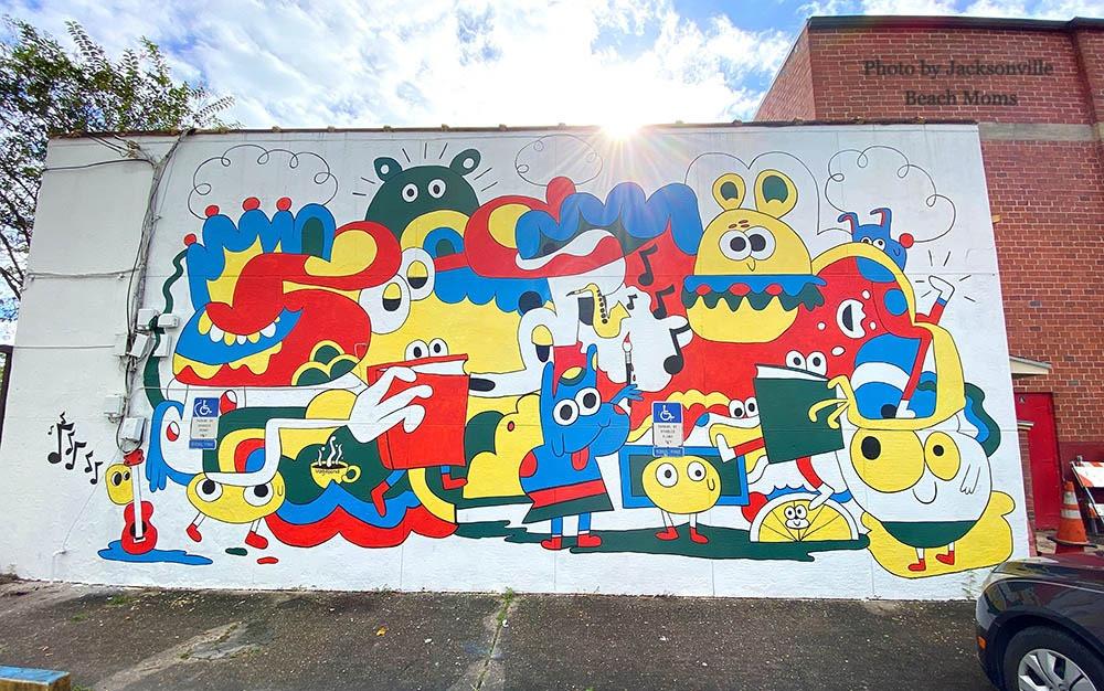 Jcaksonville FL Murals