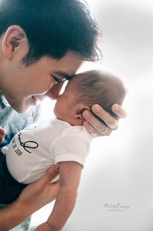 in home newborn photographer st augustine
