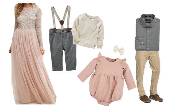 What to Wear for Formal Family Portraits