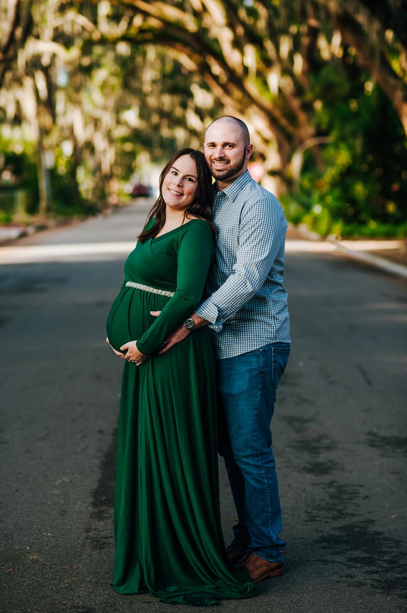 maternity portrait photographers in st augustine fl