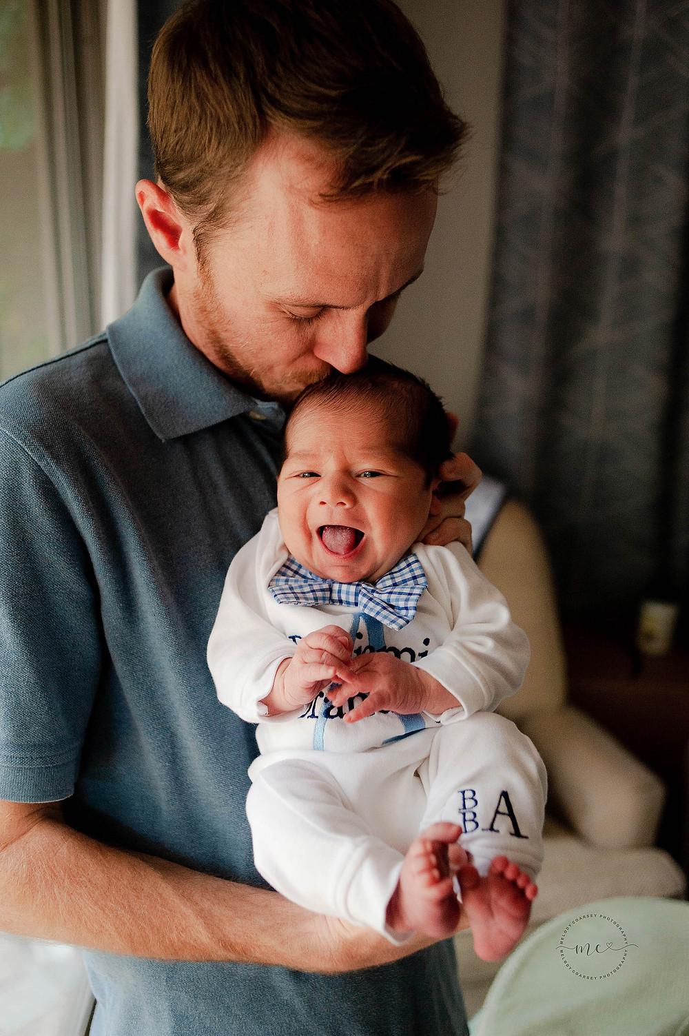 jacksonville newborn portraits in home