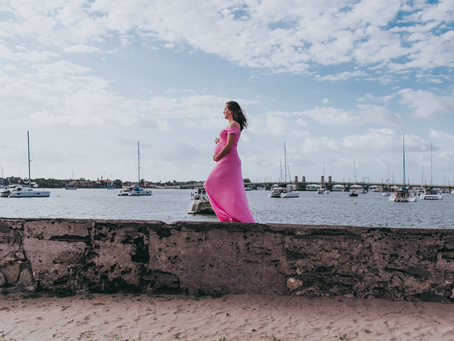 St Augustine FL Maternity Photographer | Maternity Photos