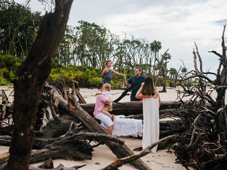 Summer Fun | Beach Family Photos | Jacksonville FL Family Photographer