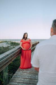 maternity photography jacksonville beach