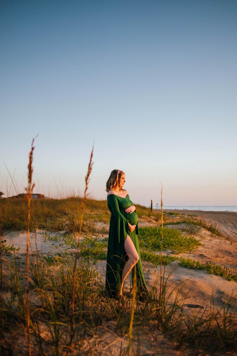 maternity photography vilano beach