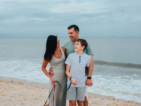 Beach Family Portraits | St Augustine Beach Family Photographer