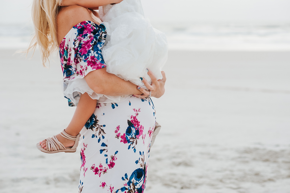 maternity photographer in st augustine beach fl