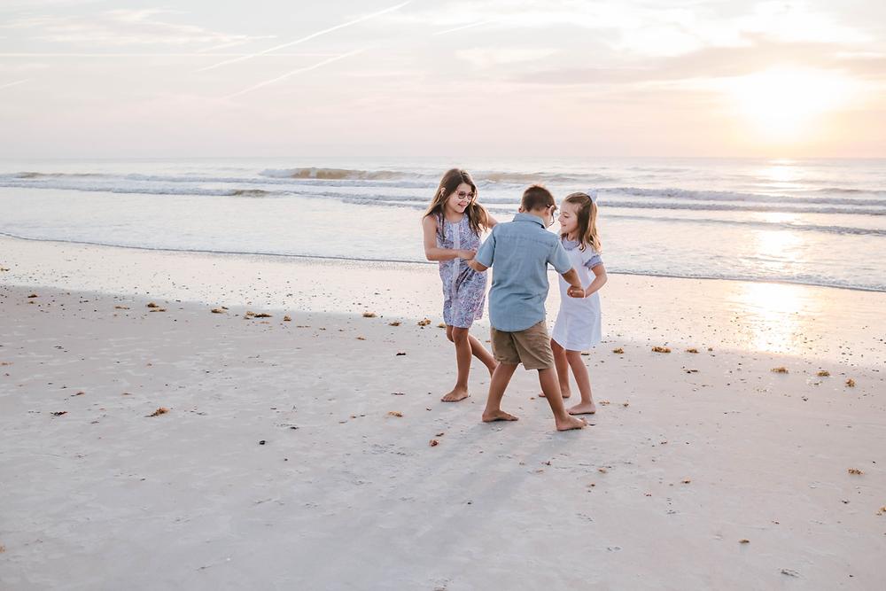 vilano beach fl family photography