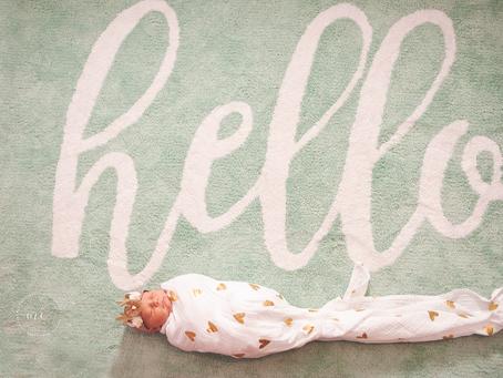 Jacksonville Newborn Photographer | Welcome Little One | Miss H :: 6 days new | Lifestyle Newborn Ph