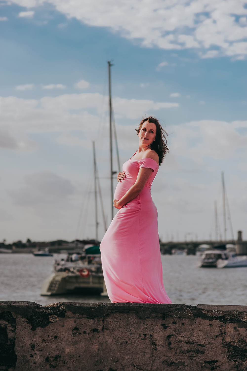 maternity photoshoot in st augustine fl