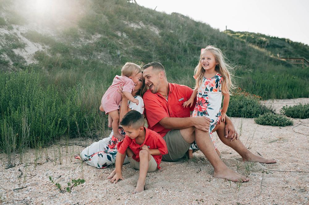beach familyphotography st augustine fl