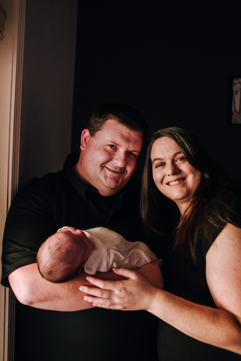 st augustine newborn photography at home