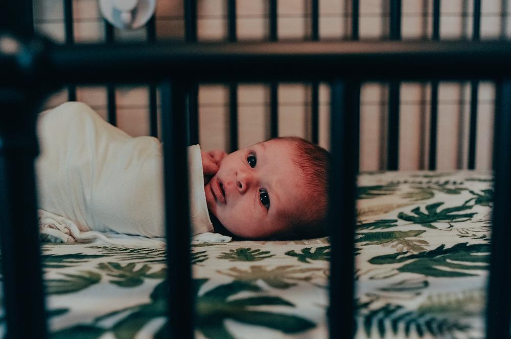 newborn photoshoot in home