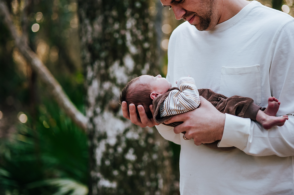 jacksonville fl outdoor newborn photographers