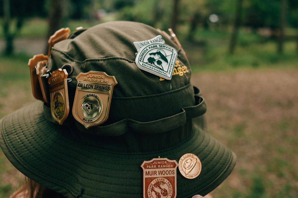Florida Junior Ranger Badges