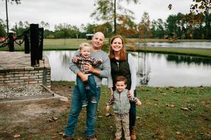 Jacksonville Family Christmas Portraits