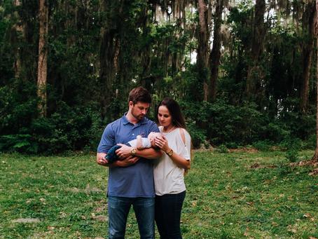 Still So New | Outdoor Newborn Session | Jacksonville FL Newborn Photography