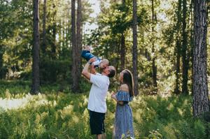 family photoshoot in jacksonville