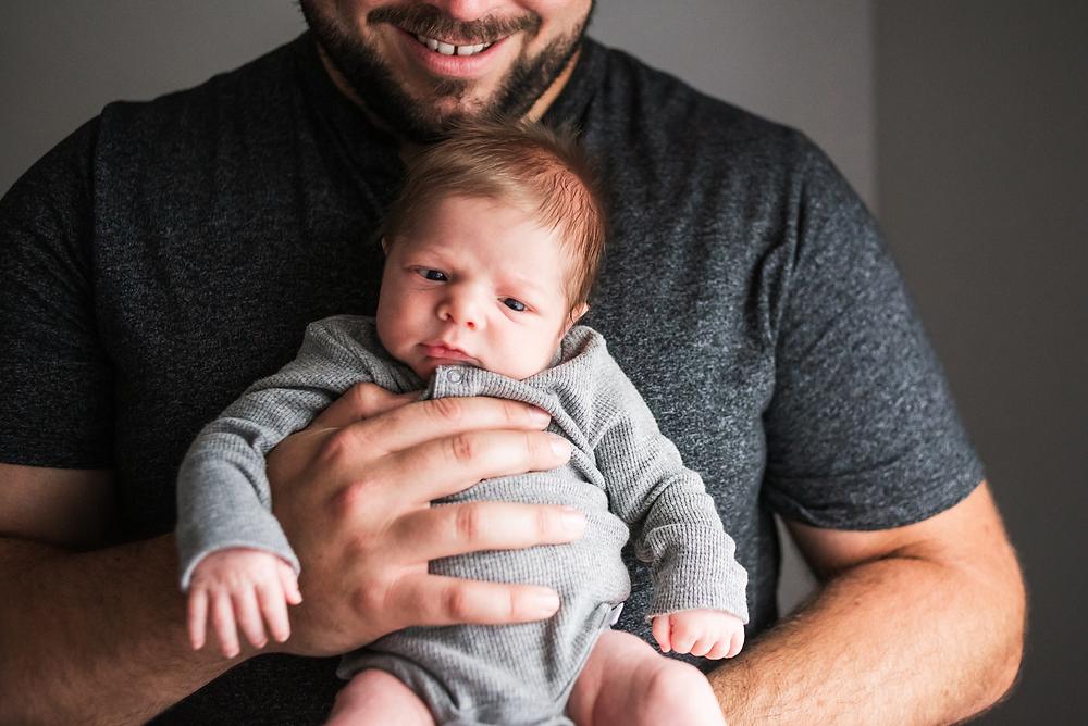 in home newborn photographer in st augustine fl