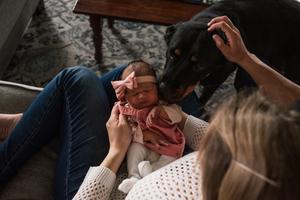in home newborn photographers jacksonville