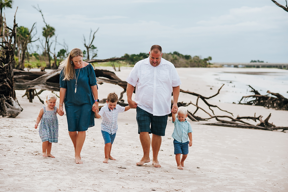 beach family photos near jacksonville fl
